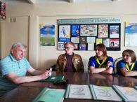 Творческая встреча Владимира Ясева состоялась в оздоровительном лагере «Любуж»