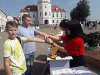 ПУНКТЫ МИРА: акция по городам Беларуси