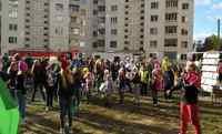 Праздник двора состоялся в Ленинском районе