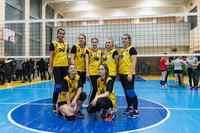 Соревнования по женскому волейболу в рамках круглогодичной спартакиады Белорусско-Российского университета