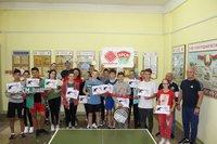 Турнир по настольному теннису «Шлях моладзі»